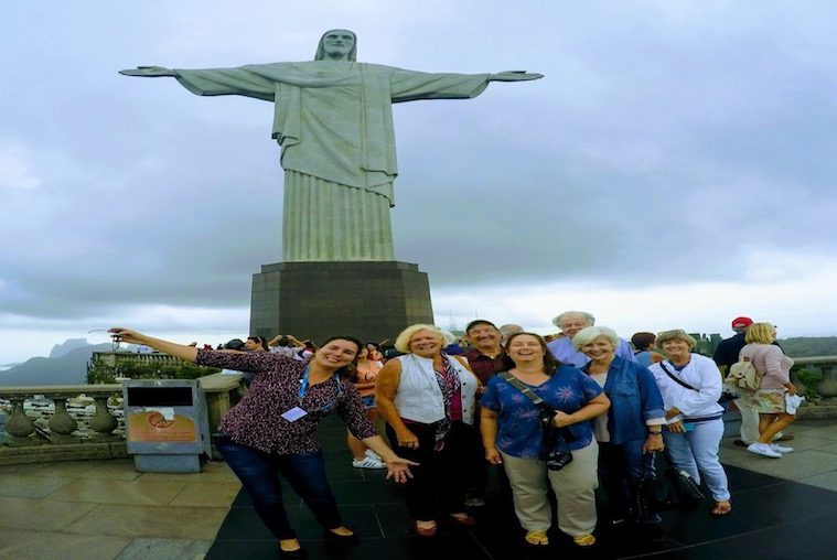 Group Visit to Christ the Redeemer
