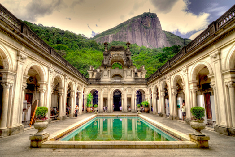 Parque Lage | A Former Sugar Mill turned Art School
