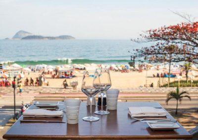 the Sofitel on Ipanema Beach