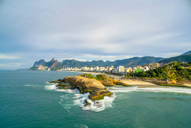 Arpoador Rock | Between Ipanema & Copacabana Beach