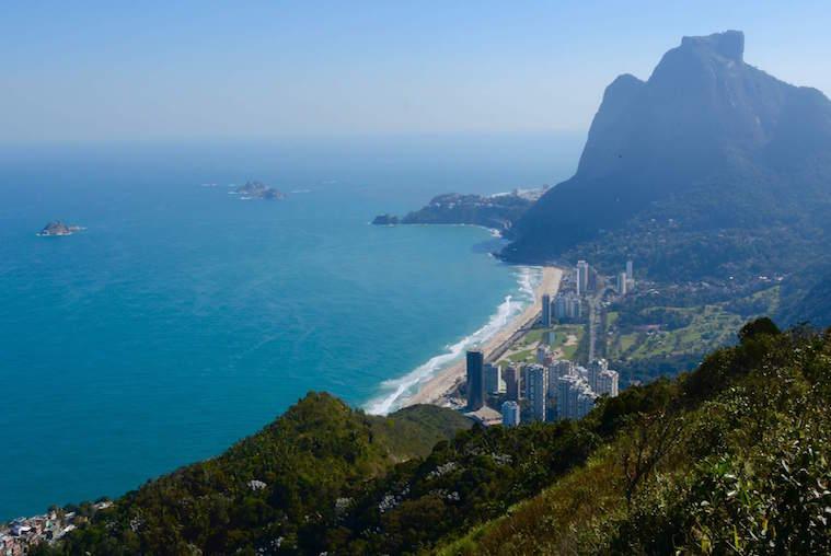 View of São Conrado Beach