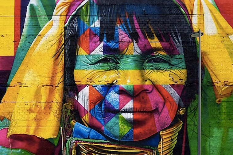 The Olympic Boulevard | Kobra Mural | Longest Mural in the World