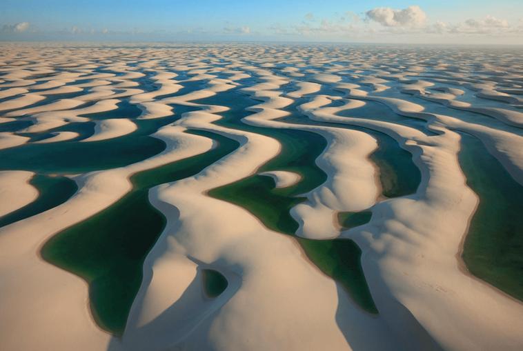 Sand Dunes Lençois Maranhenses